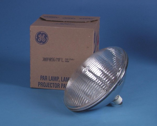General Electric GE PAR-56 240V/300W WFL GX16d 2000h