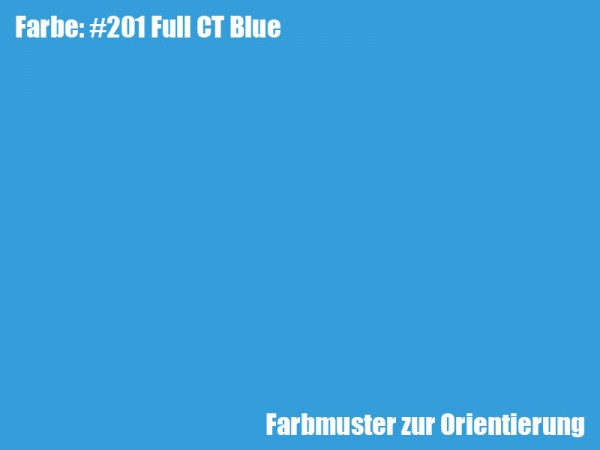 Rosco Farbfolie -Full CT Blue #201