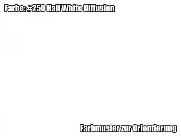 Rosco Farbfolie -Half White Diffusion #250