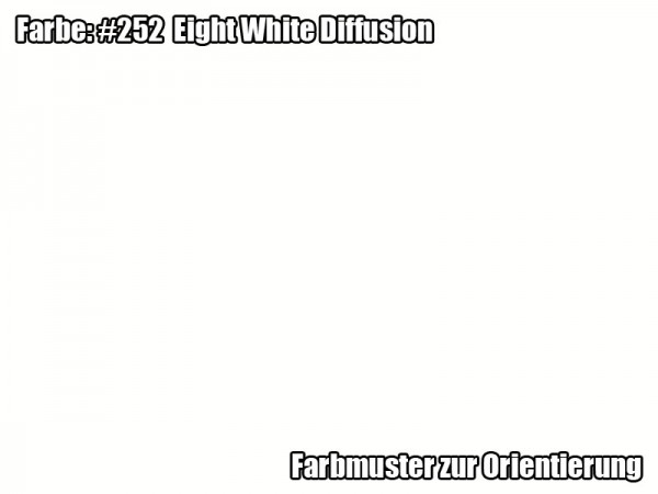 Rosco Farbfolie - Eight White Diffusion #252