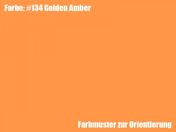 Rosco Farbfolie -Golden Amber #134