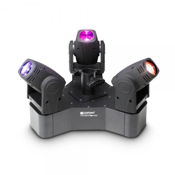 Cameo HYDRABEAM 300 RGBW - Lichtanlage mit 3 ultraschnellen 10 W CREE RGBW Quad-LED Moving