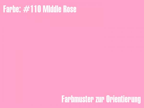 Rosco Farbfolie - Middle Rose #110