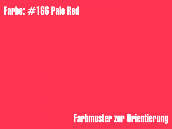 Rosco Farbfolie - Pale Red #166