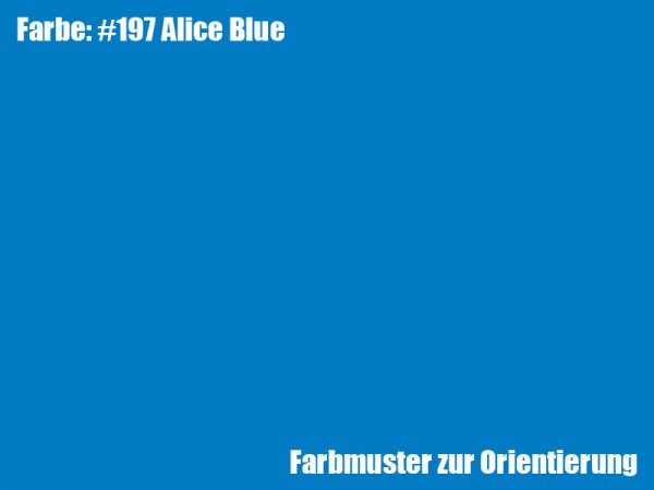 Rosco Farbfolie -Alice Blue #197