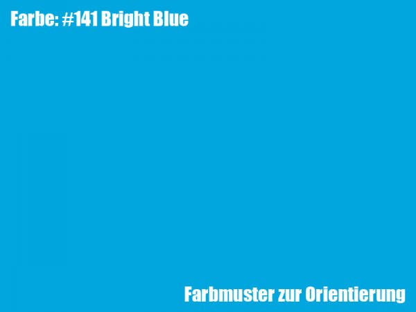Rosco Farbfolie -Bright Blue #141