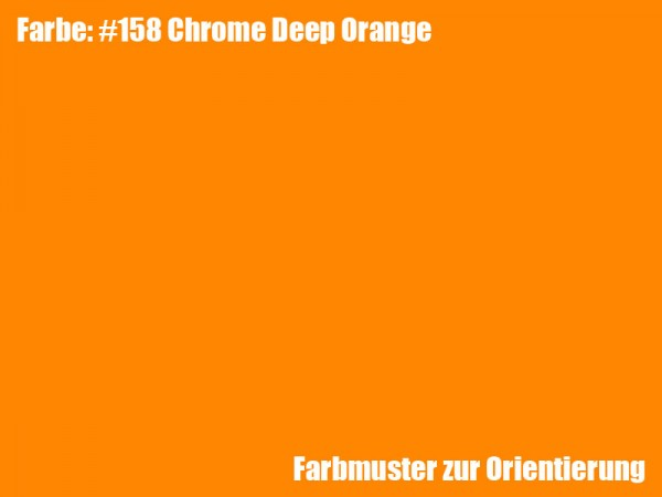 Rosco Farbfolie - Deep Orange #158