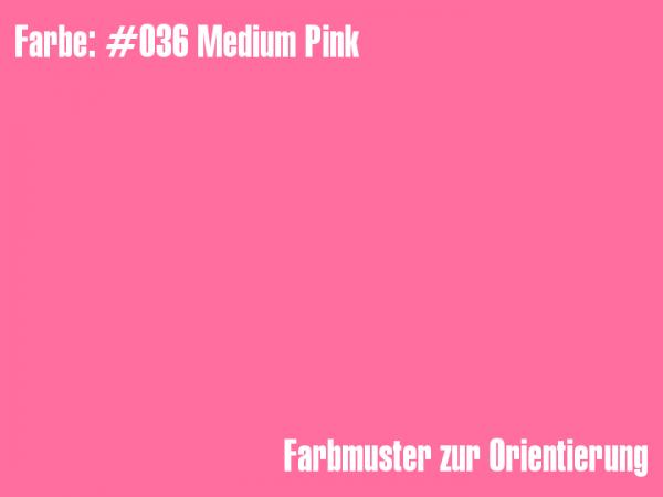 Rosco Farbfolie - medium pink #036