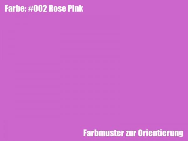 Rosco Farbfolie -Rose Pink #002