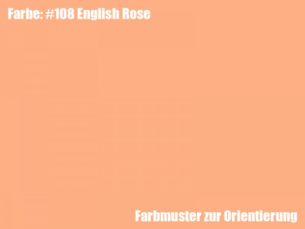 Rosco Farbfolie -English Rose #108