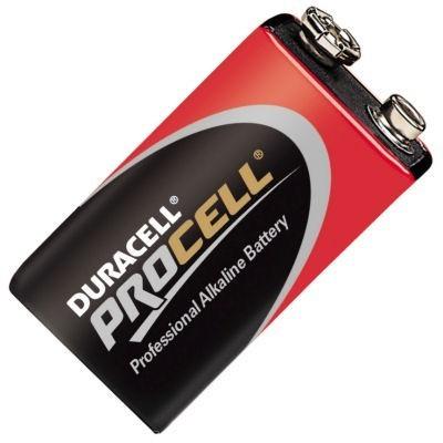 Duracell ProCell 9V Block Batterie, 1 Stück